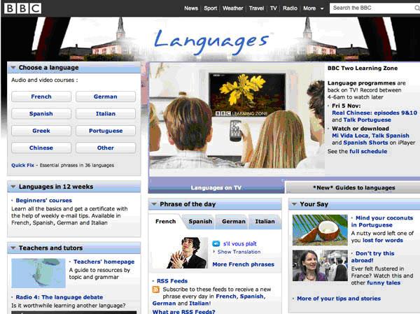 BBC-languages